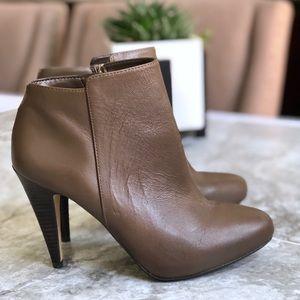 Banana Republic • Tilia Leather Heel Ankle Booties